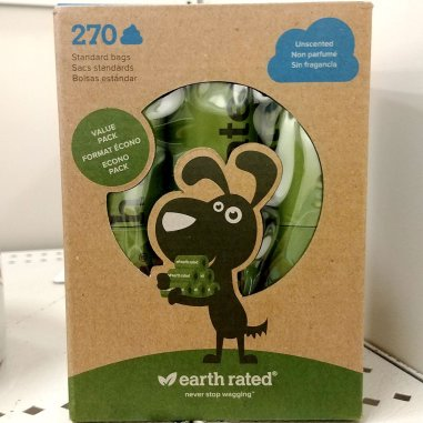 Roguetrippers always have many packages of Earth Friendly Poop bags on hand for every road trip with the dogs.