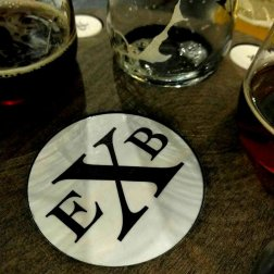 Roguetrippers-enjoy-craft-beer-at-Exchange-Brewery-coaster