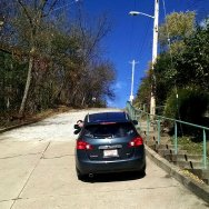 Canton Street in Pittsburgh is steepest street in USA, and good brakes are important