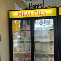 Shakespeare Pies makes frozen pies and foods that you can take home.