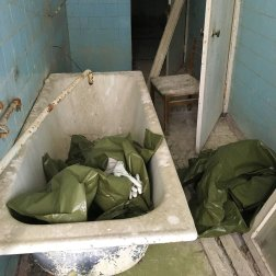 The Pripyat Hospital Bathroom has been visited by many tourists.
