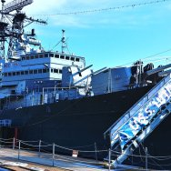 Military and Naval Park is a huge attraction for visitors to Buffalo, New York