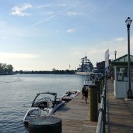 Canal Side is Buffalo's huge waterfront attraction