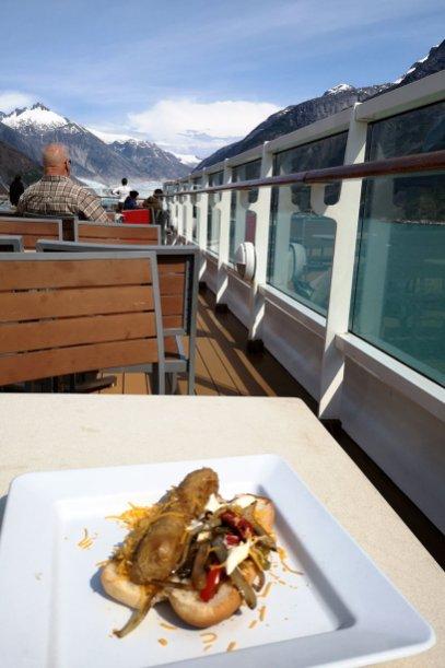 Meal-on-deck-of-Disney-Cruise-Alaska