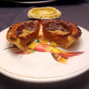 Butter tart and Lemon Curd Tart from Tartistry
