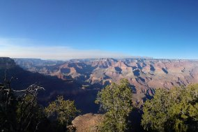 The view of Grand Canyon