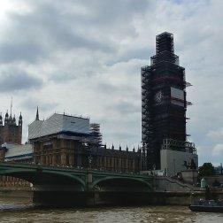 Big Ben is under renovations