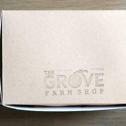 A box of treats from the Grove Farm Shop