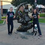 Bewitched-Statue-visit-Salem-Randoms-Travels-dalmatians