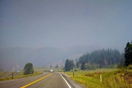 Teton National Park Montana