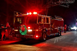 firetruck-decorated-for-christmas-parade-nova-scotia