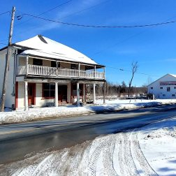 The Eldorado gold mine ghost town in Eldorado near Madoc Ontario