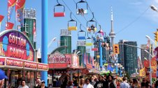 The CNE in Toronto is cancelled Festival for 20202