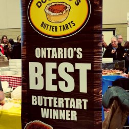 Doo Doos Bakery at a butter tart Festival in 2019