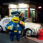 Roguetrippers visited the Simpsons at Universal Orlando in Florida