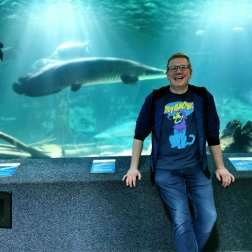 Roguetrippers visit Aquariums when we travel.