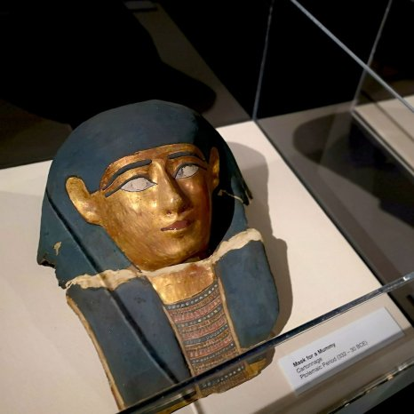 Egyptian Mummies and Eternal Life Death Mask