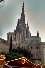 gothic quarter Barcelona Cathedral