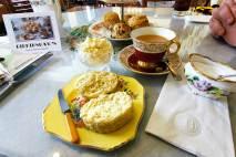 Afternoon tea at Birkinshaws tea Room in Amherst Nova Scotia
