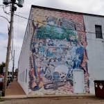 Murals around Amherst Nova Scotia
