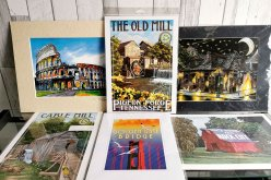 frameable prints from around the world make great travel souvenirs.