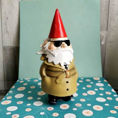 When Nick Kulnies visited Washington, DC he picked up a garden gnome travel souvenir