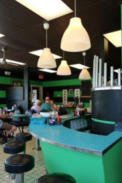Retro 50s diner in Stratford Ontario