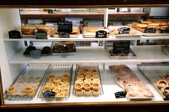 baked goods at Bread & Butter