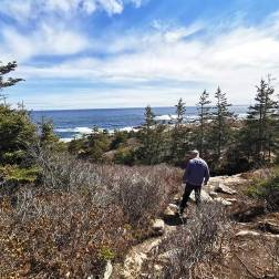 Jason Dick and Stacy Milford visit Halifax area hiking trail - Duncans Cove