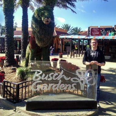 Busch Gardens Tampa is only a short drive from Orlando