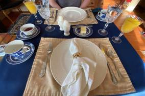 Breakfast at the Seafaring Maiden Bed and Breakfast Annapolis Royal