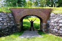 Nick Kulnies Roguetrippers explores Fort Anne