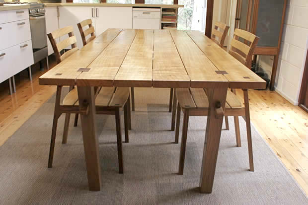Wood Work Woodworking Plans A Dining Table PDF Plans