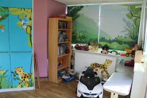 The current playroom
