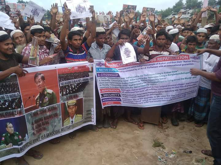 Tang Khali demonstration calls for justice, equality and accountability