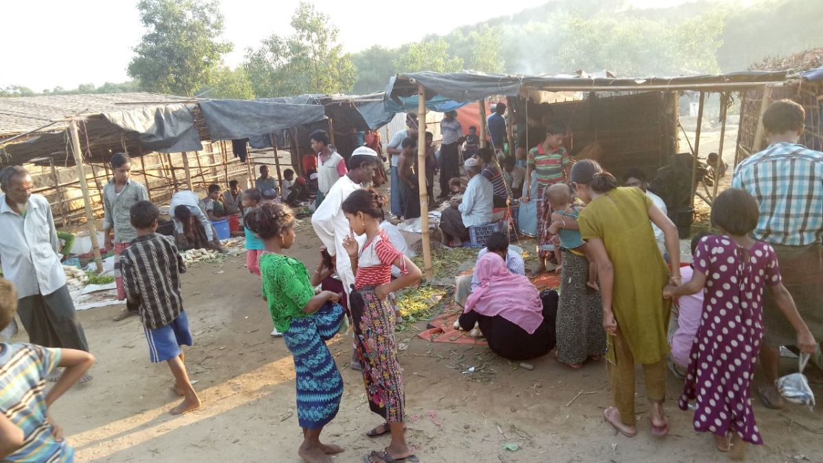 Degraded food supply by NGO at Refugee camps