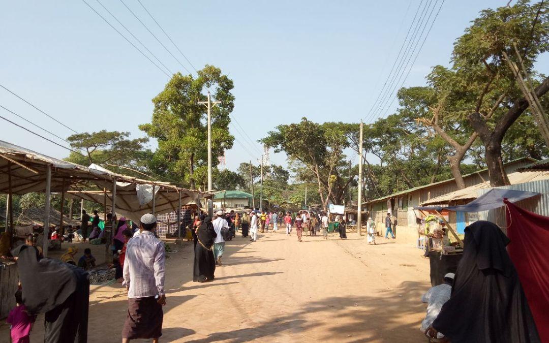 Rohingya women and soap factory