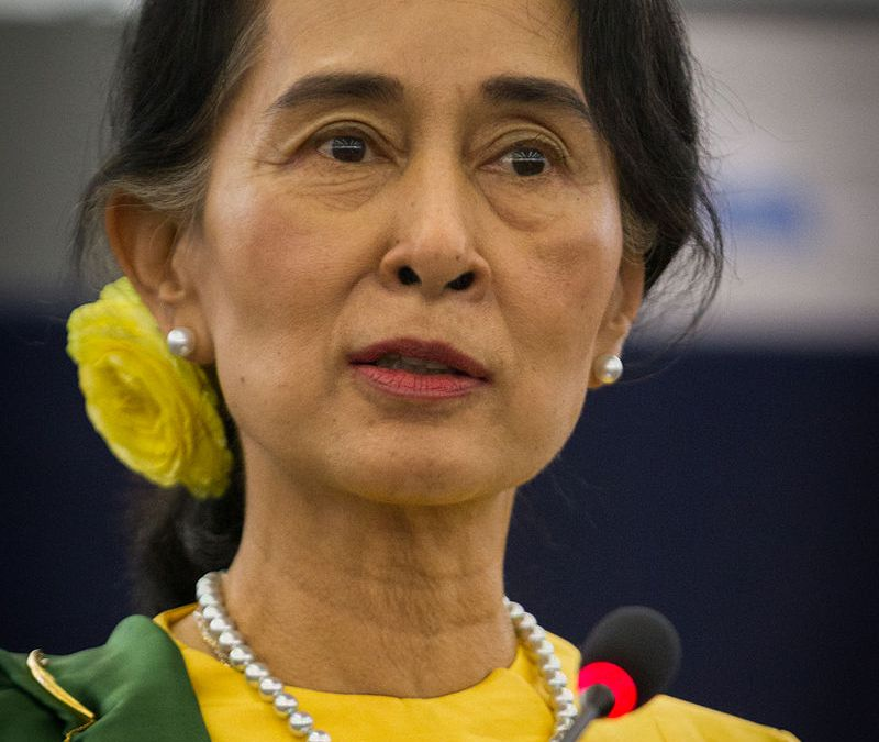 """""""The migrant-related problems are mainly to be settled between Myanmar and Bangladesh"""" Said Daw Aung San Suu Kyi"""