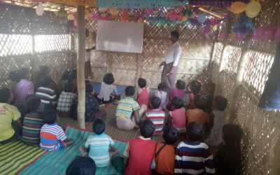 Education and skill is a must for Rohingya children's hopeful future