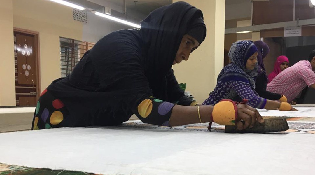 Aarong empowers Rohingya women by helping them to become dependent