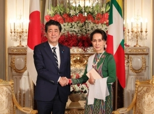 """It is essential to create an environment conducive to the repatriation of displaced persons,"" said PM  Abe"