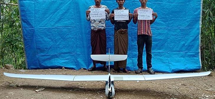Israeli-made military-grade Skylark l-LEX seized in Rakhine State