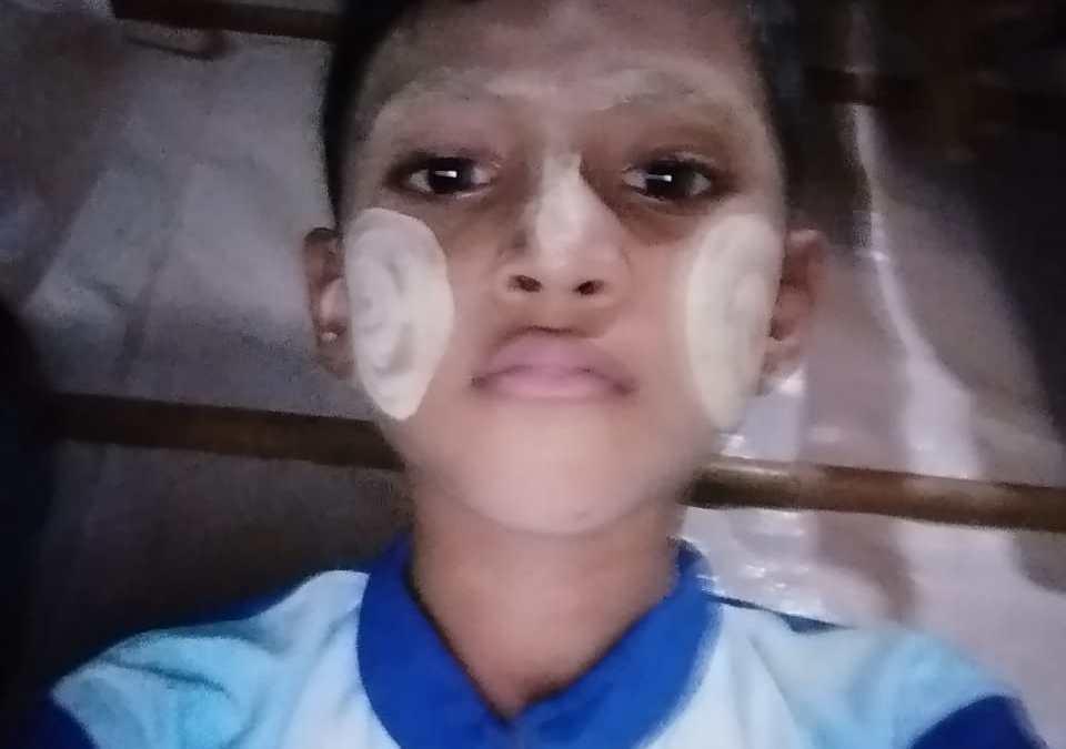 A Rohingya child missing in Balukhali-1 Camp