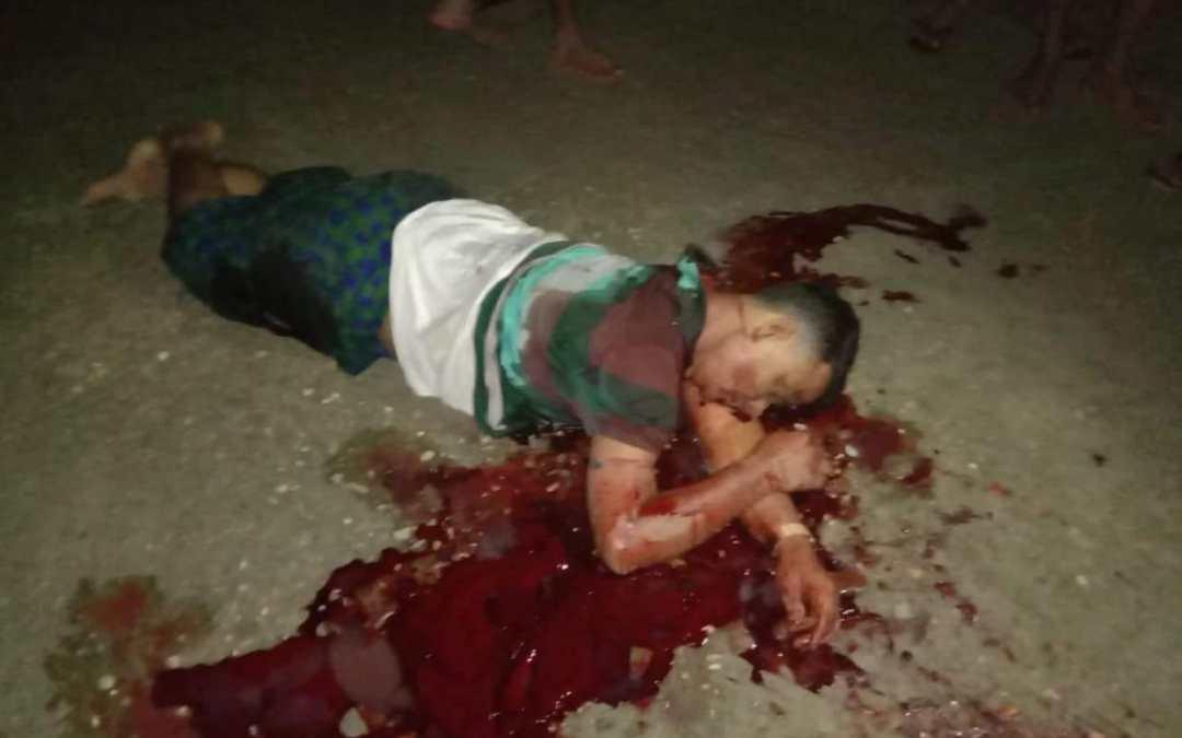 Myanmar Security force shots three Rohingya in Mingan checkpoint