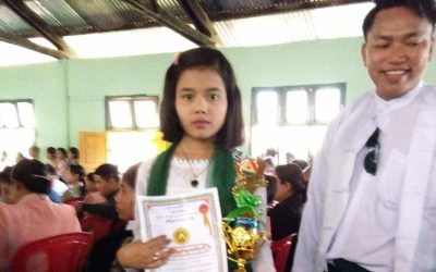 The matriculation student passes rate has increased in Rakhine state