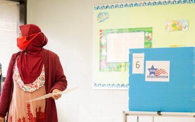 While Rohingya will not be able to vote in Myanmar, they have cast their vote in the USA
