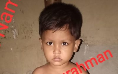 A young child was found in Kutupalong camp 2