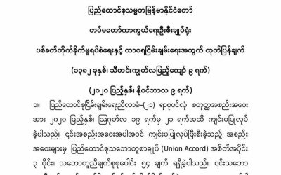 Myanmar military forms new Committee to hold peace talks with ethnic armed groups