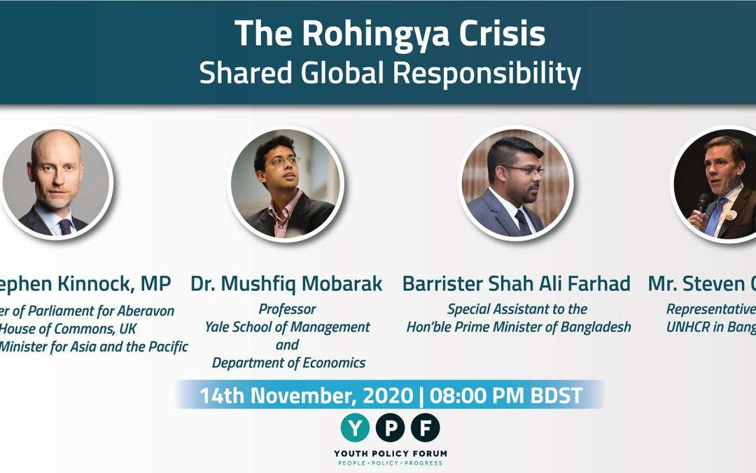 Live now – The Rohingya Crisis: Shared Global Response