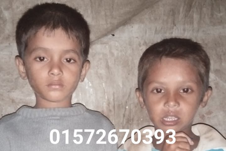 Two kids found in Balukhali, Rohingya refugee camp